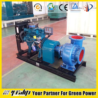 Diesel engine driven water pump for irrigation