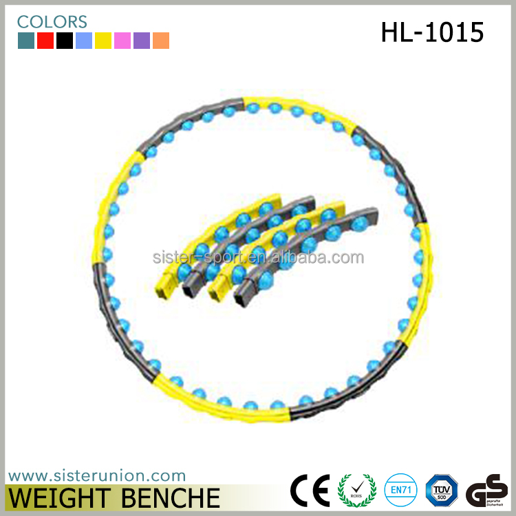 China Supply New Design Collapsible Hula Hoop
