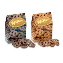 semisweet chocolate covered mini pretzels