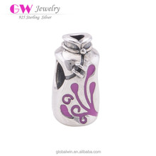 Fashion Sterling Silver Chinese Dress For Mum Charms