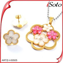 Fine Jewelry China Bisuteria New Items In China Market Gold Plated Jewelry Sets