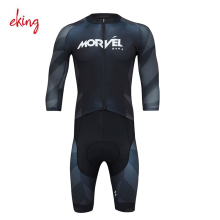 2017 OEM comfortable dry fit lycra triathlon conjoined clothes sublimation cycling triathlon tri suit