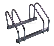 Two Bike Floor Stand Bicycle Instant Park Bike Rack Cycle Stand
