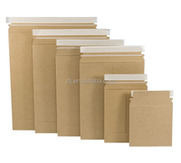 Brown kraft paper self-seal closure mailers envelope