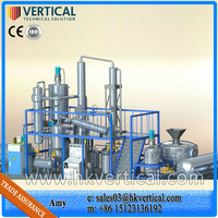VTS-DP engine lubrication oil recycling machine, recycle black engine oil, oil refinery