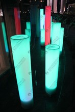 Newest Product PVC Inflatable LED Lighting Column for Event Decoration