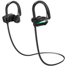 Sport Wireless Handfree Bluetooth 4.1 stereo in-ear Headphone Headset With Microphone