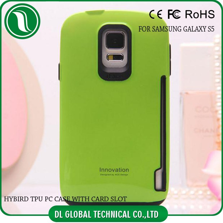 Mobile Phone TPU PC Mobile The 5th generation Iface cases covers for S5