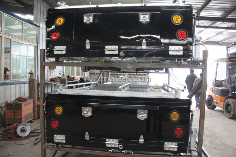 Rear folding camper trailer RC-CPT-04L