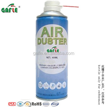 canned air duster for keyboard in 400ml can bottle