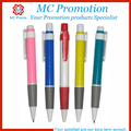Cheap springs plastic ballpoint pen for promotion