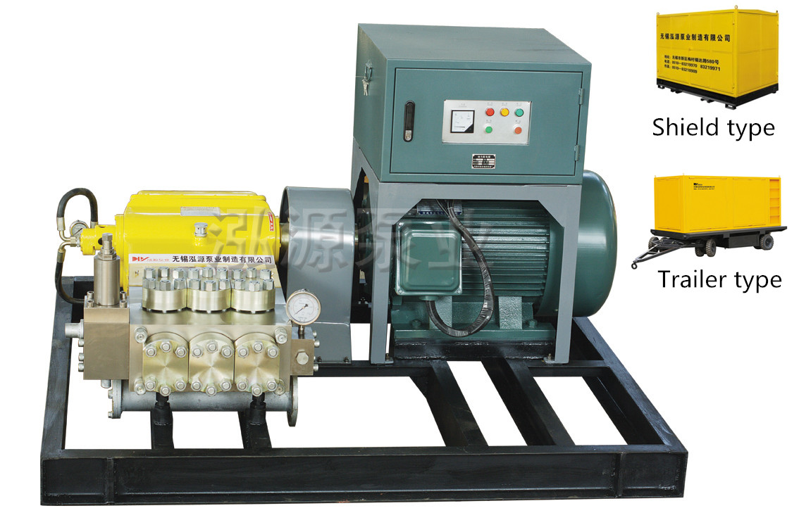 Industrial high pressure water descaling pump