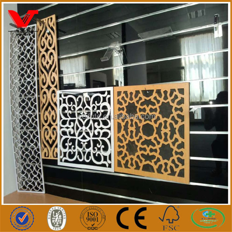 MDF Carved wooden wall panels