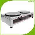 Double Plate Round Crepe Cooker For Restaurant GM-2