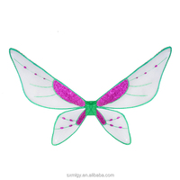 White And Purple Butterfly Fairy Wings For Party Cosplay