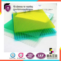 twin-wall hollow polycarbonate panel price;polycarbonate panel in Construction & real estate