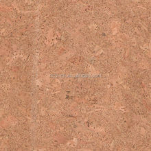 natural granular cork fabric/cork sheet in China RQ-TX73