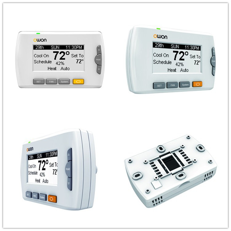 zigbee smart home wireless thermostat buy smart home thermostat single stage thermostat home. Black Bedroom Furniture Sets. Home Design Ideas