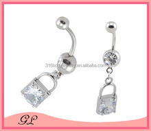 New design vibrating body jewelry belly chain