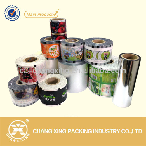 rolled plastic packaging film/food packaging film with custom design printing for auto packing machine(21 Year manufacturer)