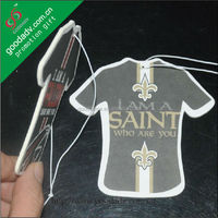 Promotional giveaways eco-friendly Paper Products football team air freshener