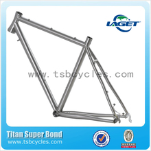 China factory selling CX titanium road bike frame with disc brake TSB-CX601
