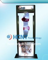 New Invention ! magnetic levitation led display rack for underwear, hot sex lady bra and bikini