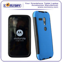 COMBO RUBBERIZED COVER SNAP ON HARD CASE + FREE SCREEN PROTECTOR For Motorola Moto G