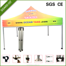 Bold Color 4x8 fire proof fabric folding tent for exhibition