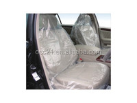 PE Disposable clear plastic car seat covers