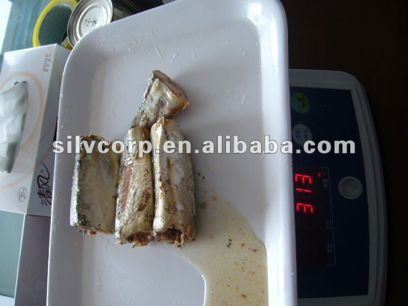 canned fish mackerel