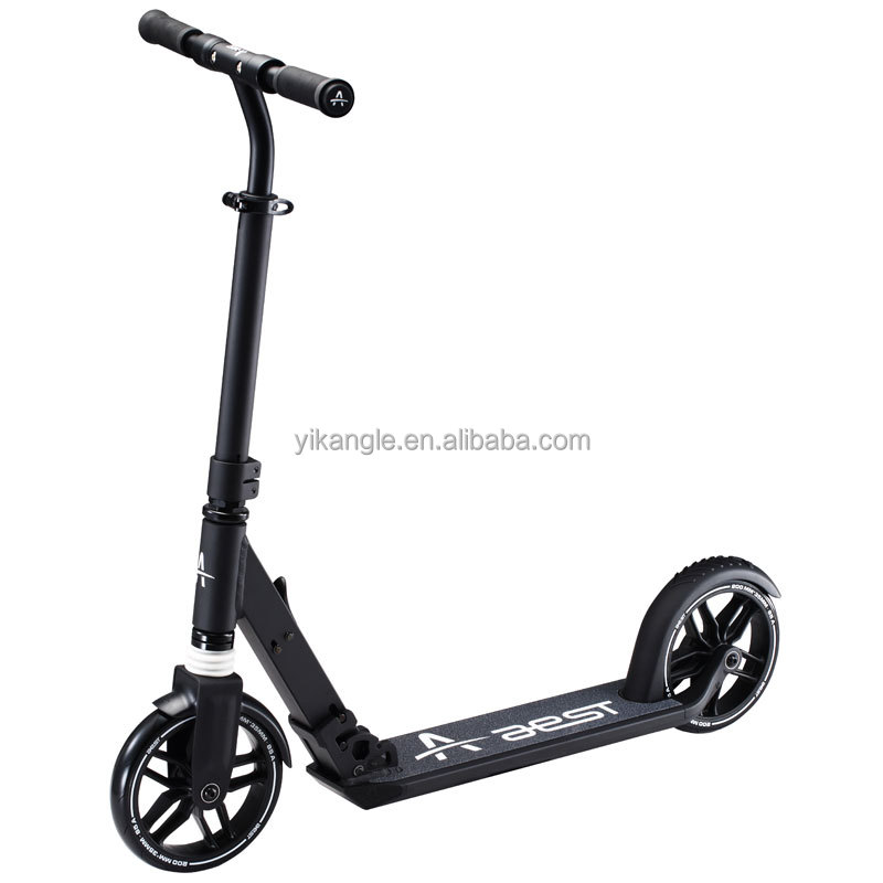 AEST own design 200mm wheels folding kick scooter for adult