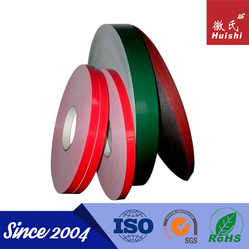 PE remove colorful heat resistant double sided adhesive foam tape 3m