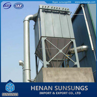 Dust collection crusher dust control system