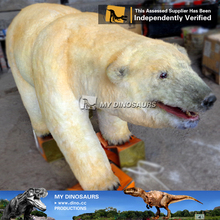 MY Dino-A23-10 High Quality Animatronic Giant Polar Bear for Sale