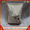Organic Wholesale Drawstring Canvas Backpack Bag