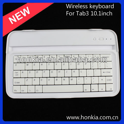 Bluetooth Wireless Keyboard case for galaxy tab3 8.0inch, For tab3 Aluminum Bluetooth Keyboard Case ABS Keypad