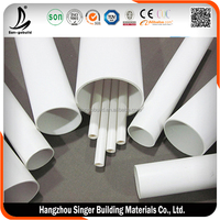 10mm pvc electrical conduit pipe, low price flat pvc pipe