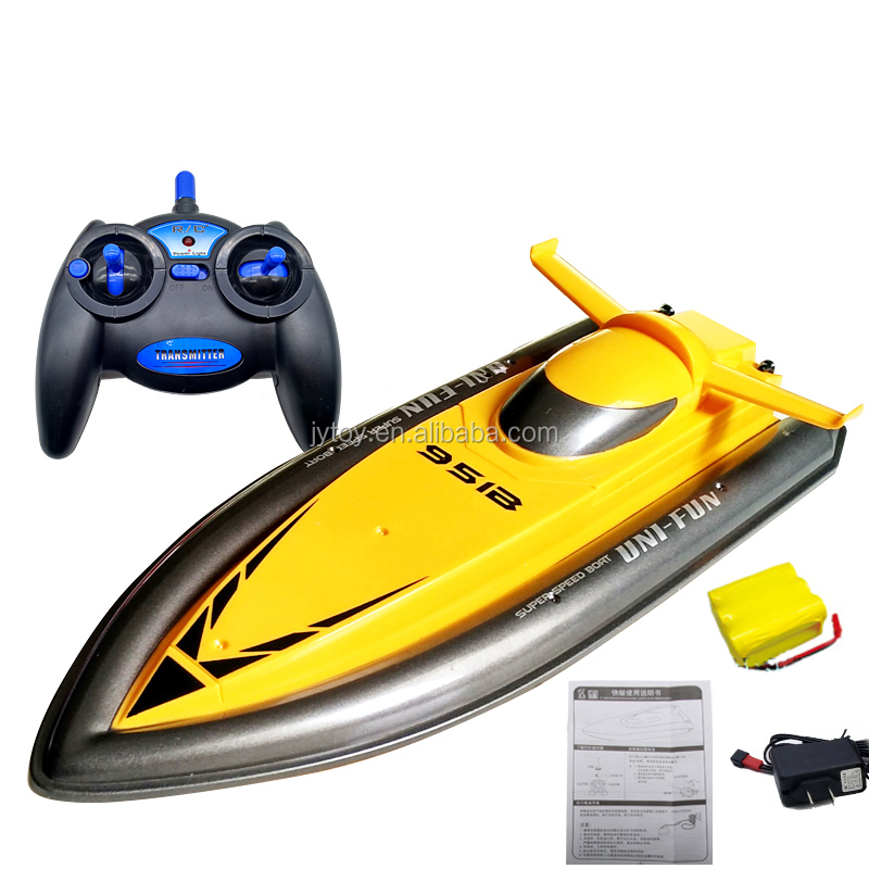 Big Size 2.4G RC Boat for children Electric Motorboat 4CH Model Ship Remote Control RC Boat Speedboat RC Toys