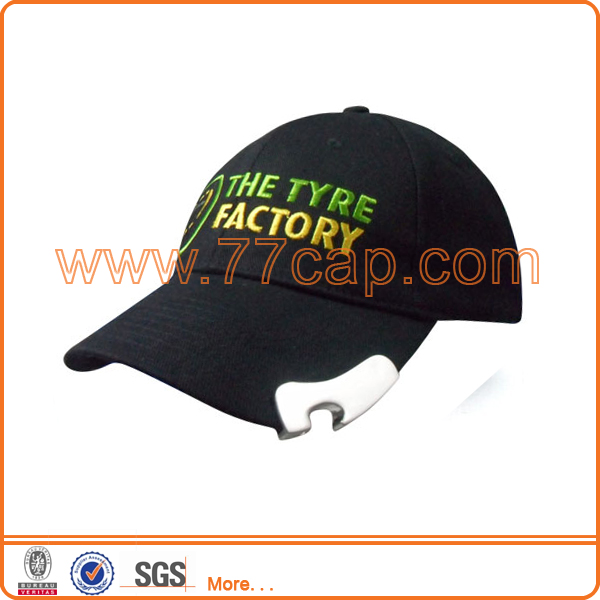 custom wholesale baseball cap cheap snapback cap price with bottle opener