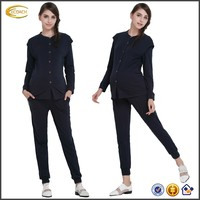 Ecoach Wholesale OEM Customize Ladies Sleepwear Home Clothes Maternity Clothing Solid Soft Suit For Pregnant Women Pajamas