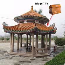 Glazed tiles Chinese Tea house roof tiles pitched roof glazed roof tile manufacturers