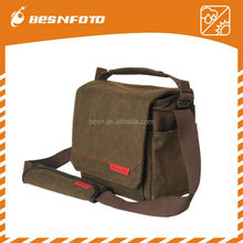 Besnfoto 16A Waterproof Canvas photo travel bag Compact PC Shoulder Bag