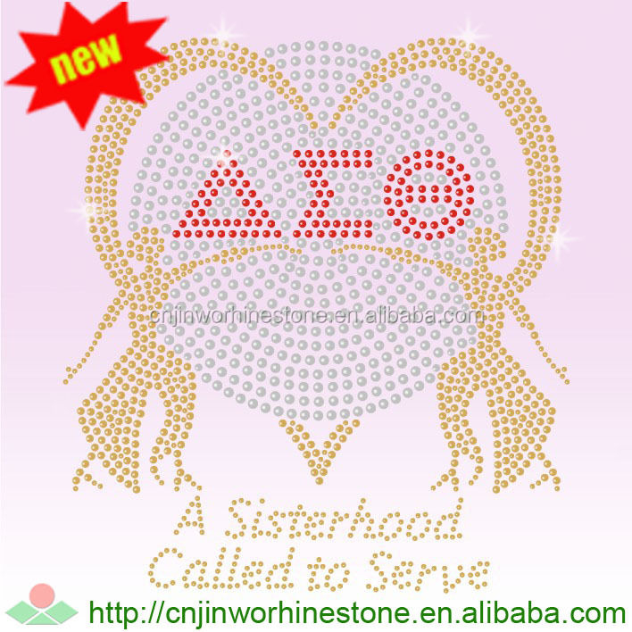 Delta Sigma Theta Crystal Hot Fix Korean Rhinestone Iron On Transfer DST (45)