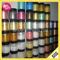 High quality bulk synthetic mica color pearl pigment for plastic