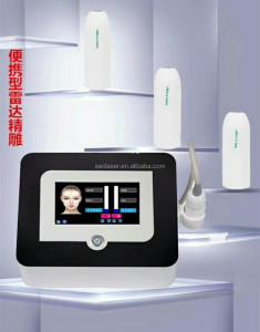 Focused Ultrasound V Max Skin Tighten Machine