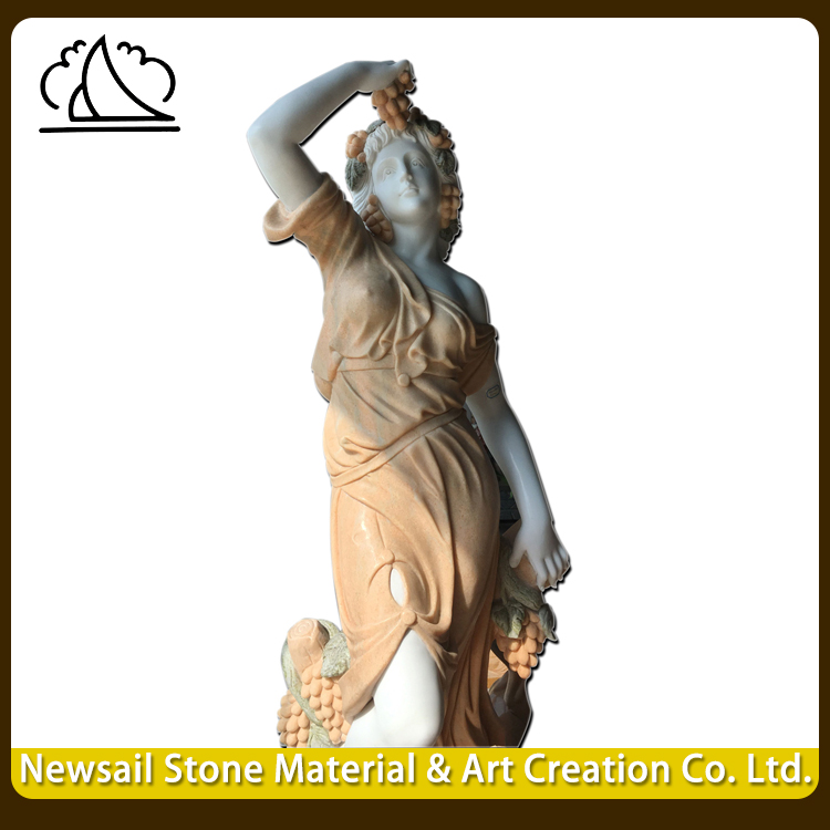 Wholesale Stone Figure Carving Girl Garden Statues For Home