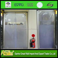competitive transparent clear flexible soft anti- static PVC plastic door curtain roll