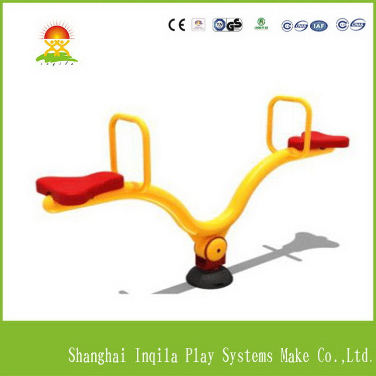 Top grade outdoor playground amusement park seesaw set
