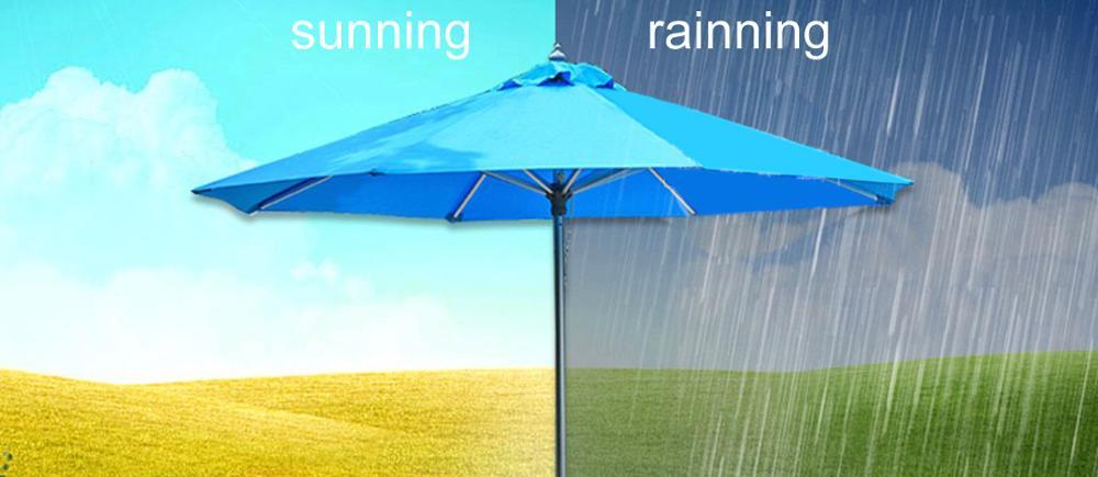 Deluxe 2.5m Square Cantilever Parasol Hanging Parasol Sun Shade Umbrella